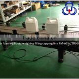 Toilet Cleaner Filling Capping Machine for for 5L Barrel