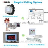 Call Button And Care Watch Pager For Personal Use Hospital Patient Calling Nurse Service
