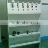 metal display stand rack for bags shoes, make up display units, skincare display racks shelves,case