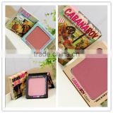 Professional the balm cosmetics eye shadow palette single color blush palette