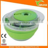 Non-Skid Base Collapsible Salad Spinner Wash and Dry Fruits or Vegetables Handwash Only