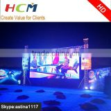 Outdoor p10 Full color advertising led display price stage stage backdrop led rental p8 cabinet
