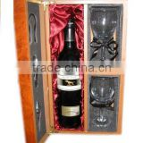Burl wooden Box For Wine