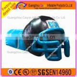 Factory outlet Inflatable football tunnel,inflatable American football helmet