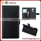 2015 Desimon Wallet Leather Flip Book Cover Case for Huawei Mate 7