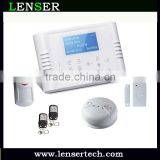 LS-GSM-109 38 zones GSM Security Alarm System Quad-band LCD Touch-key,Intelligent Alarm for House