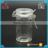 in stock clip lock and 60ml glass bottle jar with airtight clamp lid                                                                         Quality Choice