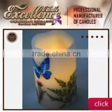 2016 color changing and cheap battery operated candles with timer