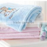 100 polyester fleece blanket baby animal blanket/plush animal blanket                                                                         Quality Choice