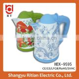 CE/CB/RoHS Certification Hinge lid 360 degree electric kettle