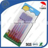 6Pcs Easy Grip Pencil HB Pencils Set With Blister Card