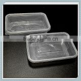 Plastic disposable microwave food container                                                                                                         Supplier's Choice