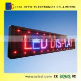 Programmable LED Moving message Display Sign p20 fullcolor semi-outdoor high resolution led display screen                                                                         Quality Choice
