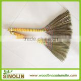 SINOLIN Guangxi natural tiger grass, hand-made straw broom in wholesale price