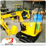 Hot sale Playground Kids Game Excavator machine / Children Excavator / Kids Electric Toys Excavator
