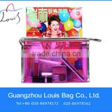 High-end Pvc Cosmetic Bag,Clear PVC cosmetic bag,clear transparent pvc cosmetic bag for european market