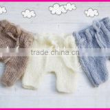 newborn baby photography prop handmade crochet newborn baby pant for pictures                                                                         Quality Choice