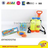 Super cut water gun with backpack with panda backpack summer toys for sale