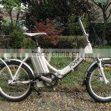electric motor bike scooter,good quality aluminum frame 6 speed,20inch lightweight lithium battery folding bikes