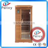 Martmak modern house design 2 People Capacity far infrared sauna with Computer Control Panel