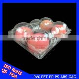 hot sale four a tray plastic apple fruit clamshell