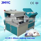 Whole photo binding hardcover book album hard cover making machine
