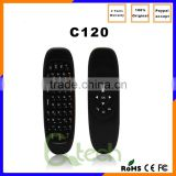 Original 2.4GHz G Mouse II/C120 Air Mouse T10 Rechargeable C120 wireless air mouse keyboard