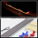 for Mercedes W204 W212 GLK LED door sill with led car covers strip welcome pedal auto accessories car styling