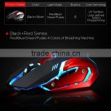 6d gaming optical mouse gaming mouse optical wired mouse with high quality various color available