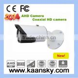 1.0 Megapixel CMOS 720P AHD Camera IR Bullet AHD Camera Outdoor Weatherproof/Waterproof 720P AHD Camera.
