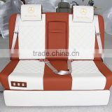 Rear 3 seater sofa parts with recliner for motor homes MPV