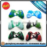 Unique New Products Camouflage Silicon Case for XBox360 Controller For XBox 360 Accessory                                                                         Quality Choice