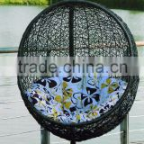 Outdoor furniture hanging egg chair patio swing chair                                                                         Quality Choice