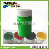 Shanghai pigment fluo.green paint tinting colourant