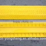 Full Yellow 1- Channel Plastic Hose Protectors