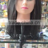 New arrival black mannequin head holder wholesale head holder with high quality