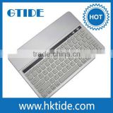 Aluminum Bluetooth Keyboard for Different of Tablet Smartphone Samsung PC and All -in-One