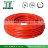 8.5mm fiber reinforced braided flexible plastic pvc gas hose