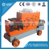 Heavy duty construction equipment rebar cutter machine
