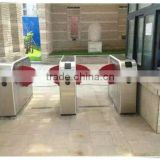 RFID automatic flap turnstile gate outdoor use