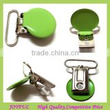 Nickel Free colorful round suspender clips---easy open