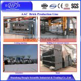Hebel autoclaved aerated concrete block plant , autoclaved aerated concrete block factory in Indonesia , AAC light brick machine