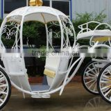 Royal horse carriage wedding horse equipment used cinderella pumpkin horse carriage(BG11-M058)