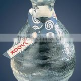 High Quality Made in Japan Tokkuri Hard Glass Sake Bottle Glass Bottles Japanese with Sake Glass Sake Cup