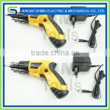 CE 4.8v charging screw driver compact kit