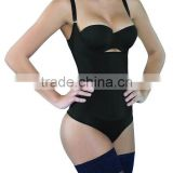 Latex shapewear Seamless Firm Control Bodysuit Adjustable Straps Body Shaper for Women