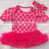 2014 New Style Baby Girl Bodysuit with skirt,Infant baby Onesie Kids Clothing in wholesale