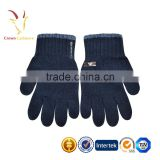Little Boy Mongolian Cashmere Gloves thick children knit gloves