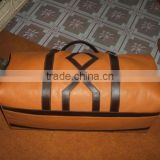 Genuine cow leather travel bag
