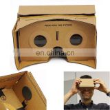 DIY 3D VR Virtual Reality Cardboard Glasses for Google Android iPhone Headset BF VR030